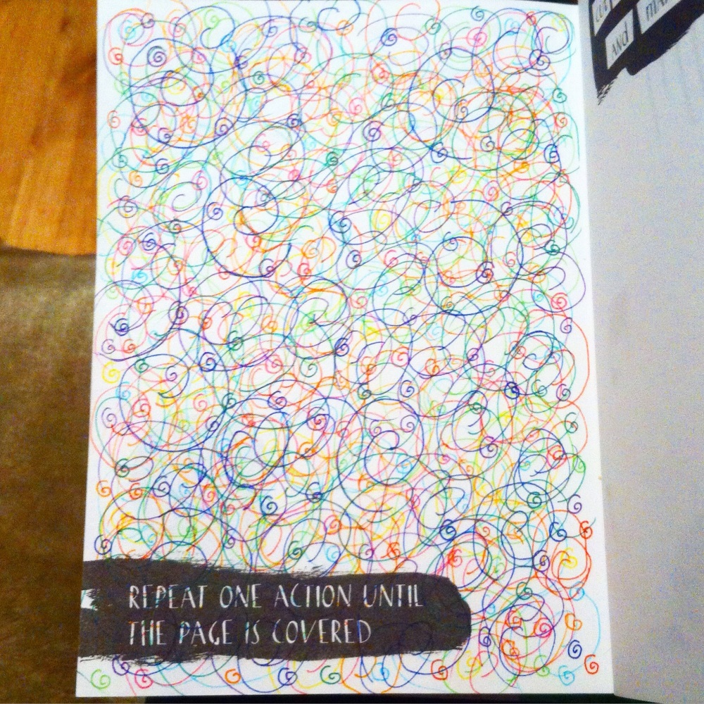 Anti Journal, Personal Art Journal and.... The Mindfulness Colouring Book (6/6)